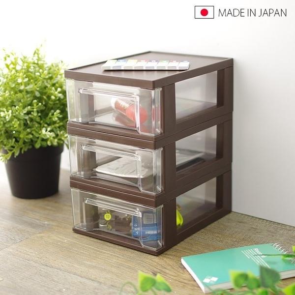 日本製 桌面收納組合D 抽屜盒 整理盒 置物盒 分隔收納盒 桌面小物收納 文具筆筒【5211】BO雜貨