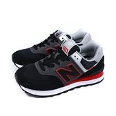 NEW BALANCE 574 復古鞋 運動鞋 男鞋 黑/灰 ML574SM2-D no896