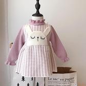 洋裝女童3歲5可愛卡通針織連身衣裙女孩寶寶春秋款毛衣裙公主裙【公主日記】