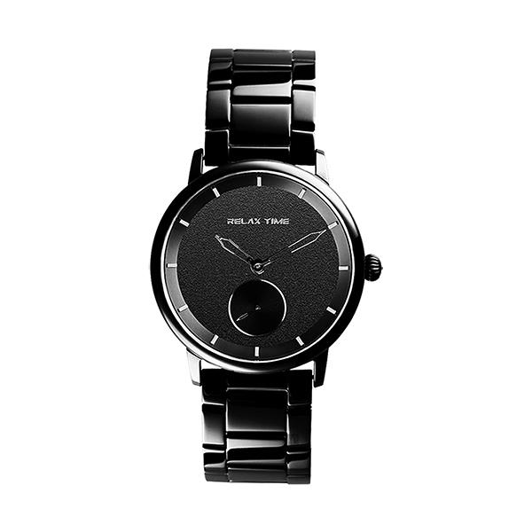 【Relax Time】Floating漂浮系列現代簡約時尚腕錶-時尚黑/RT-83-7/台灣總代理公司貨享一年保固