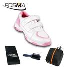 兒童高爾夫球鞋 透氣防滑防水 女童運動鞋 舒適 GSH065WPNK