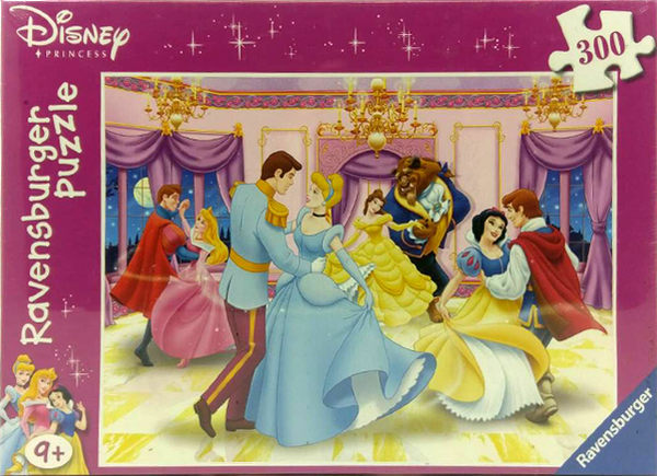【Ravensburger 維寶(RV)】盒裝拼圖-迪士尼公主(300片) #131273