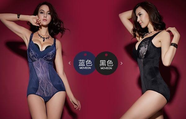 薄款加強型產後束身衣連體四季薄款重壓型收腹衣-mov204