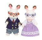 日本 EPOCH森林家族可可兔爺爺奶奶組 EP15130原廠公司貨