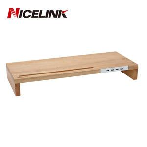 NICELINK USB 2.0實木螢幕架 SF-WH20