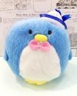 【震撼精品百貨】Tuxedo Sam Sanrio 山姆藍企鵝~絨毛鎖圈/吊飾*10939