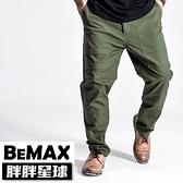【胖胖星球】中大尺碼‧時尚縫工造型休閒長褲 38~48腰‧加大【108012】