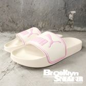 PUMA LEADCAT SLIDE 白粉紫 舒適 休閒 運動 拖鞋 女鞋 (布魯克林)2018/9月 36026312