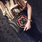 潮流手包 中國風男女包復古信封手拿包單肩包