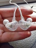 耳机 重低音炮手機通用運動跑步掛耳式入耳式耳機線控帶麥有線耳掛耳塞·夏茉生活