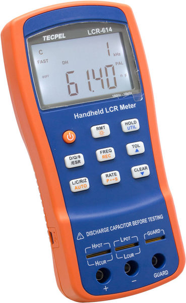 TECPEL 泰菱》LCRMeter 10KHz 電阻 電感 電容測試儀 RLC LCR-614 TECPEL