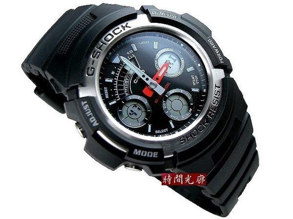 【時間光廊】CASIO 卡西歐 G-SHOCK 多功能雙顯 運動錶 全新原廠公司貨 AW-590-1ADR