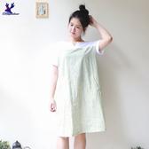 【秋冬降價款】American Bluedeer - 寬鬆直條洋裝(特價)  秋冬新款