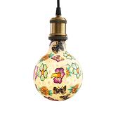塗鴉5W LED燈泡-蝴蝶