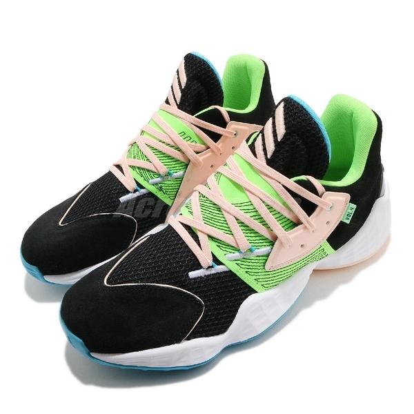 adidas 籃球鞋 Harden Vol.4 GCA 黑 綠 粉紅 男鞋 運動鞋 【ACS】 FY0874