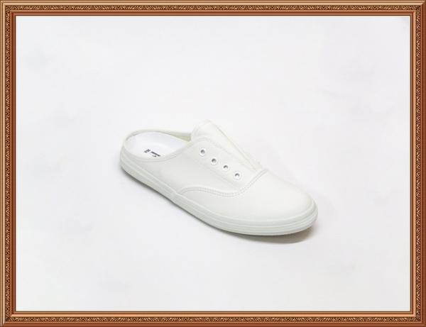 ★CK-703❤☆❤ 台灣製 青春洋溢~前包後空拖鞋/包鞋式拖鞋/懶人鞋 /皮感休閒鞋(現貨+預購)
