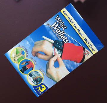 wrist wallets三合一多功能手套包(1套 3入)【現貨+預購】