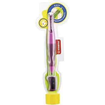 【5支量販】 左手專用人體工學 自動鉛筆 附削鉛筆器(共2種顏色可選)STABILO 德國天鵝牌 EASYergo3.15