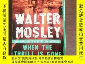 二手書博民逛書店When罕見the Thrill Is Gone: A Leon