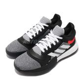 adidas 籃球鞋 Marquee Boost Low 黑 白 BOOST中底 John Wall 男鞋 運動鞋【PUMP306】 D96931
