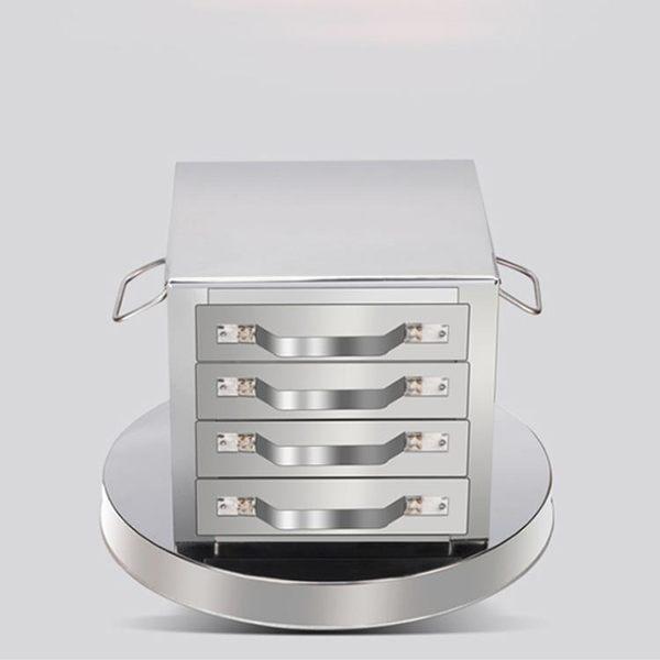 腸粉機抽屜式家用4層不銹鋼蒸盤廣東拉腸粉爐四格五抽粉撐王包邊   igo可然精品鞋櫃