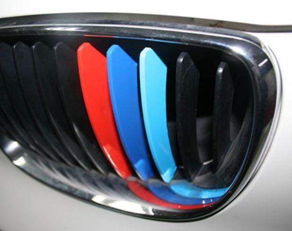 BMW 中網貼 三色貼 車身貼 F01 F02 F10 F20 F30 E90 E91 E92 沂軒精品 A0014