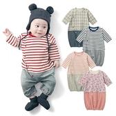 假二件緹花寶寶連身衣 兔裝 包屁衣 新生兒服 兔裝 造型服 媽媽寶寶童裝 (50-60)【GD0153】