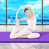 瑜伽墊女初學者防滑地墊家用加厚加寬加長男專業舞蹈橡膠健身墊子 酷男精品館