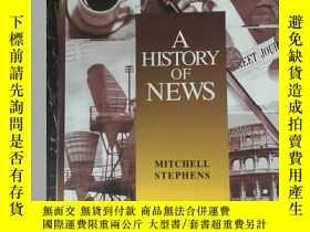 二手書博民逛書店A罕見History of News (歷史的新聞)Y11245