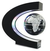 懸浮地球儀4寸6寸髮光自轉磁懸浮地球儀辦公室桌擺件創意男女生日禮物禮品LX【四月特賣】