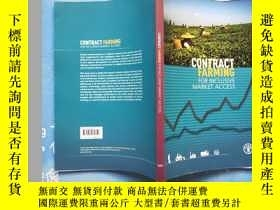 二手書博民逛書店CONTRACT罕見FARMING FOR INCLUSIVE