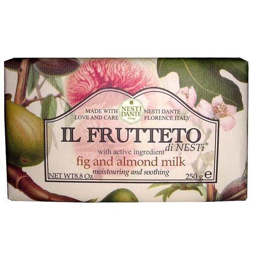 Nesti Dante 義大利手工香皂 天然鮮果系列 無花果&杏仁 250g【美人密碼】