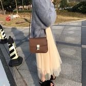 秋冬裝2019新款ins超火半身裙女韓版chic學生百搭純色網紗打底裙【快速出貨】