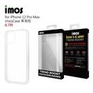 【愛瘋潮】iPhone 12 Pro Max 6.7吋 (透明) imos Case 耐衝擊軍規保護殼 手機殼 防撞殼 防摔殼