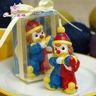 【中秋好康下殺】蠟燭結婚用品婚禮蠟燭浪漫創意回禮無煙蠟燭彩色小丑生日蠟燭禮品
