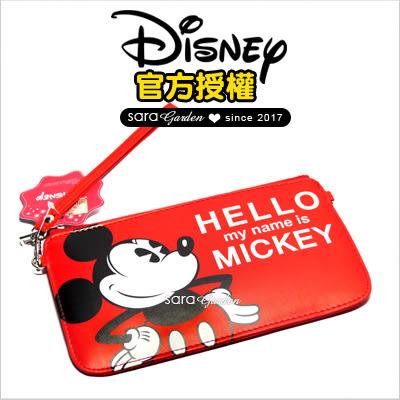正版 迪士尼 手機袋 化妝包 小熊維尼 奇奇蒂蒂 米奇 米妮 小美人魚 貝兒公主 史迪奇 皮套 鉛筆盒