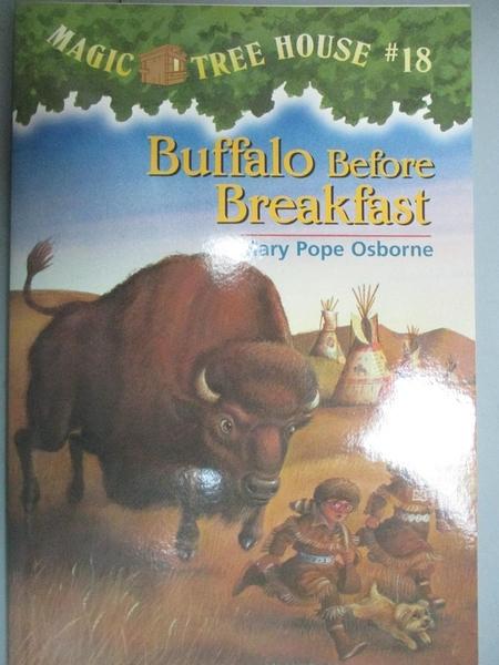 【書寶二手書T3/兒童文學_LCS】Buffalo Before Breakfast_Mary Pope Osborne