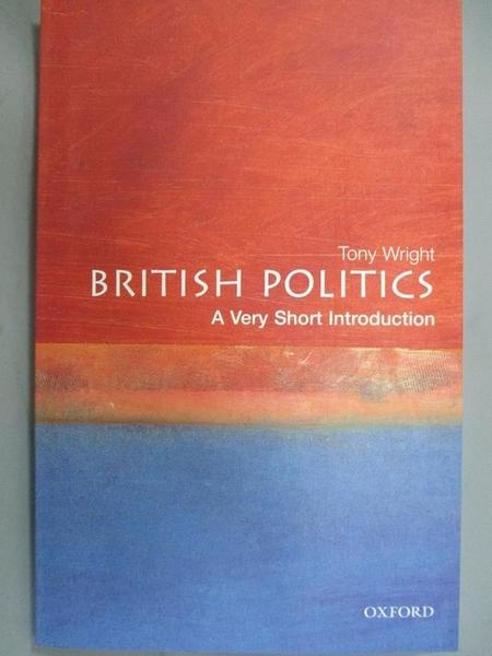 【書寶二手書T8/政治_LGI】British Politics: A Very Short Introduction_