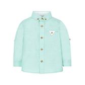 mothercare 藍綠色反摺牛津襯衫-盛裝系列(M0LH404)18M、4A