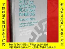 二手書博民逛書店Selective罕見Serotonin Re-uptake I