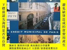 二手書博民逛書店AU罕見CREDIT MUNICIPAL DE PARIS 法文