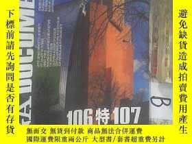 二手書博民逛書店GA罕見DOCUMENT 106特107 2009世界建築 ..Y261116