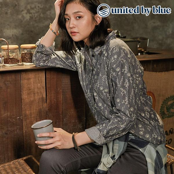 United by Blue 女棉麻長袖襯衫 201-045 Cottonwood Button Down / 城市綠洲 (有機棉、環保、無化學物)