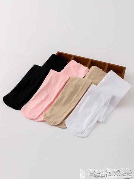 兒童白絲襪 女童連褲襪絲襪肉色兒童舞蹈襪子白色膚色天鵝絨打底褲外穿