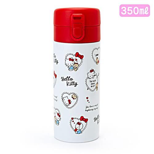 Sanrio HELLO KITTY不鏽鋼保溫保冷隨手瓶-350ml(愛心小熊)★funbox★_643891