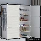 鞋櫃 鞋架子簡易多層鞋櫃門口結實防塵家用實木經濟型收納神器