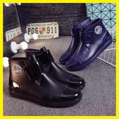 雨鞋男士短筒春秋雨靴低幫防滑防水鞋時尚膠鞋水靴套鞋