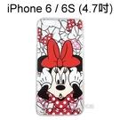 迪士尼空壓透明軟殼 [主題] 米妮 iPhone 6 / 6S (4.7吋)【Disney正版授權】