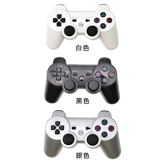 [哈GAME族]免運費 可刷卡●六軸震動●PS3 副廠手把 控制器 遊戲控制器 有線/無線 裸裝 多色可選