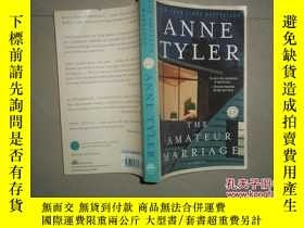 二手書博民逛書店ANNE罕見TYLER THE AMATEUR MARRIAGE